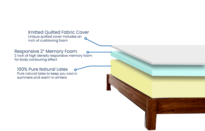 Classic-natural-latex-with-memory-foam_cross-section
