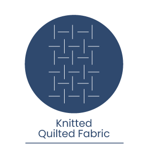 Knitted-quilted-fabric
