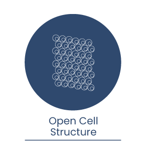 Open-cell-structure